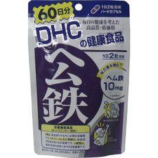 DHC  Железо, фолиевая кислота, витамин В12, на 60 дней.